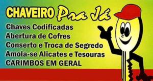 Chaveiro Pra Já