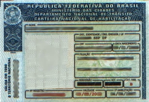 Mudança de Categoria CNH